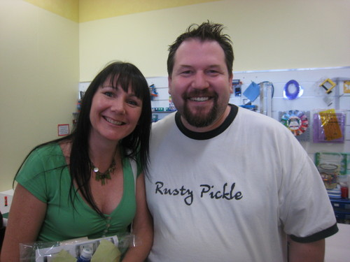 Rachelle and me